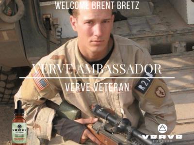 Verve Ambassador Brent Bretz