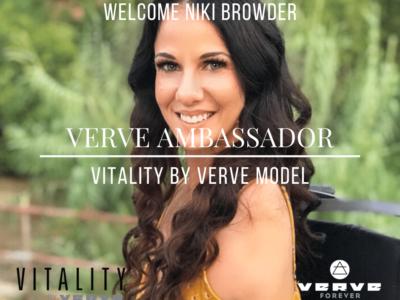 Vitality WELCOME Niki Browder